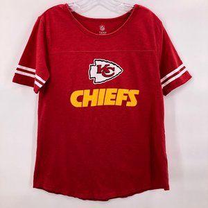 NFL Kansas City Chiefs Red Short Sleeve Tshirt